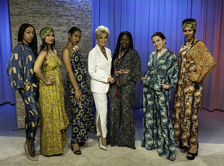 Yolanda, Boye Asenuga and her models